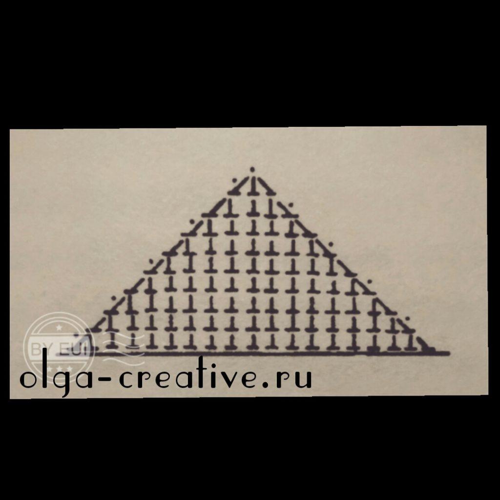 как-вязать-треугольник