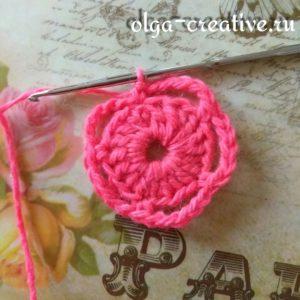 как-вязать-простой-цветок-крючком