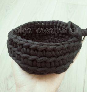 вязание-трикотажной-корзинки
